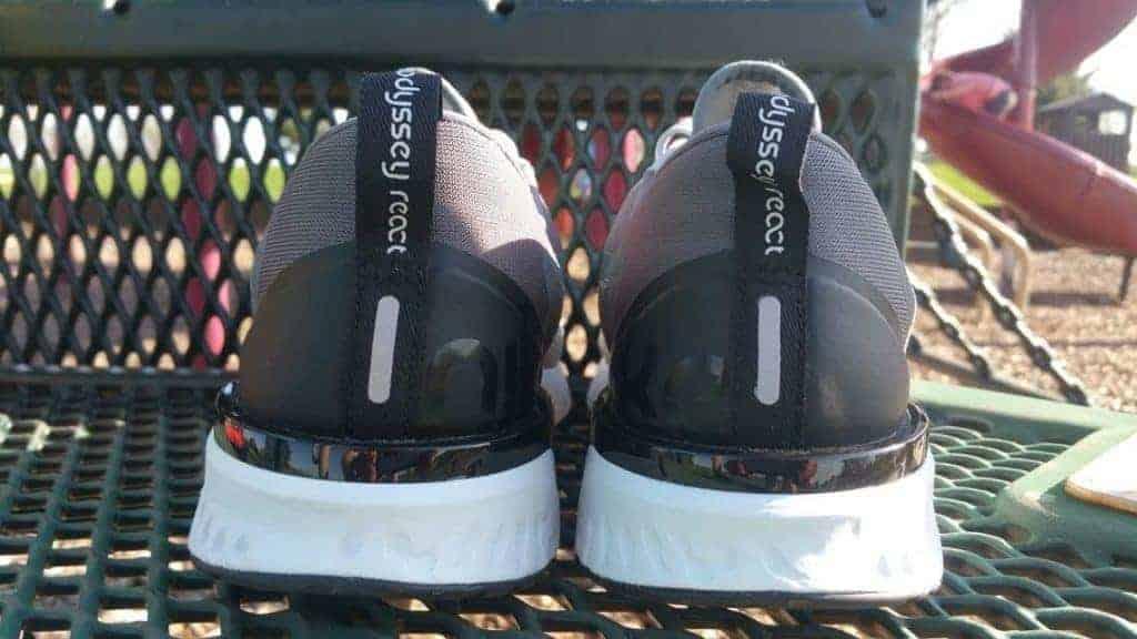 Nike Odyssey React Пятка
