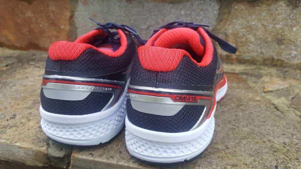 Saucony Omni 16: Пятка ботинка