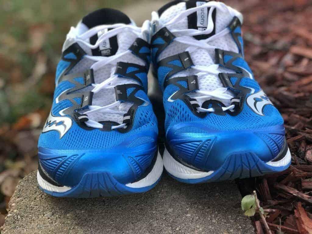 Носок кроссовок Saucony Triumph ISO 4