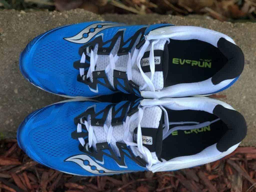 Saucony Triumph ISO 4:Верх обуви