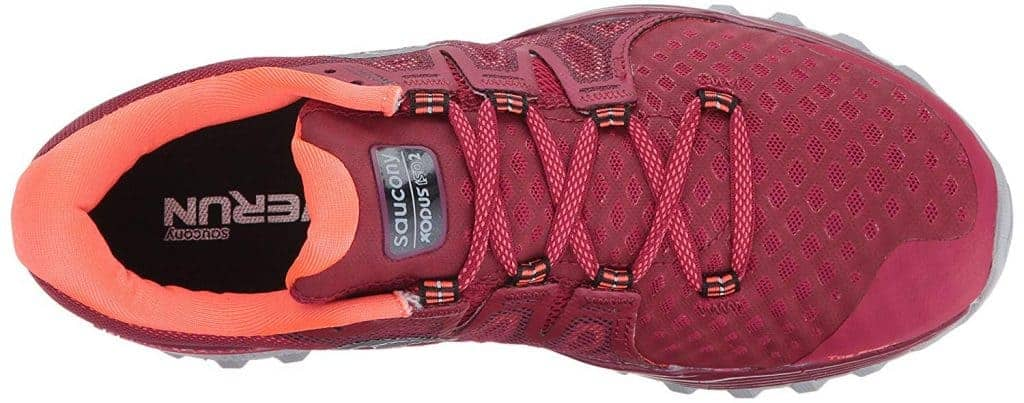 Saucony Xodus ISO 2: Верх обуви