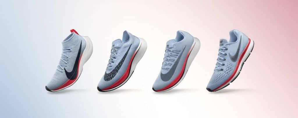 Коллекция обуви Nike Breaking2