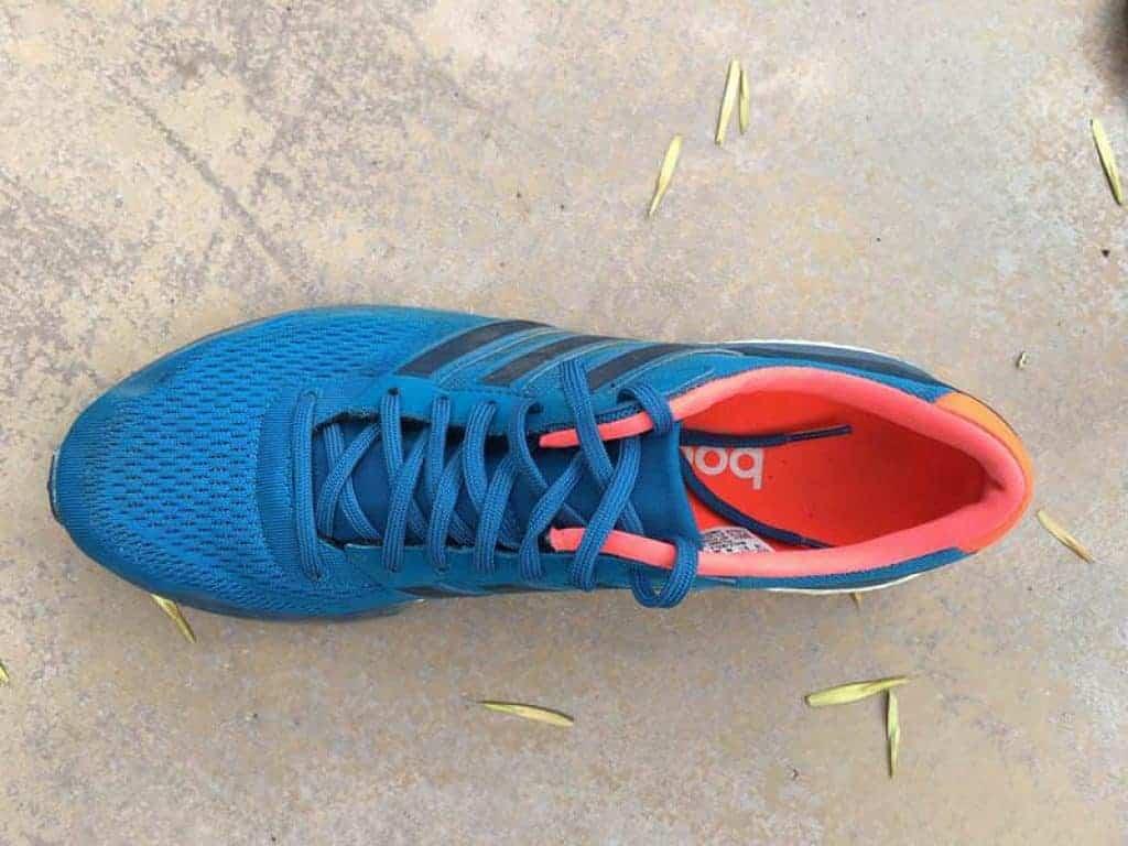 Adidas Adizero Boston 6 — вид сверху