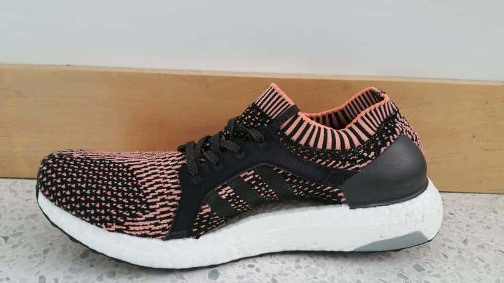 Adidas UltraBoost X – Медиальная часть стопы