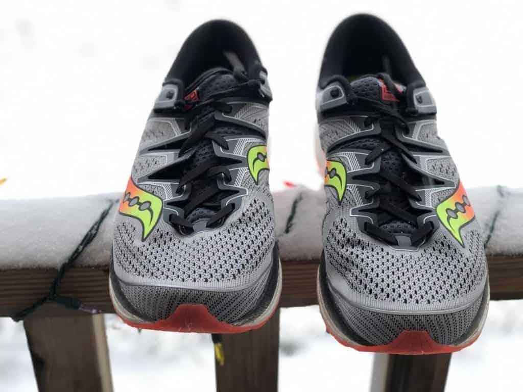 Saucony Triumph ISO 5 - носок обуви