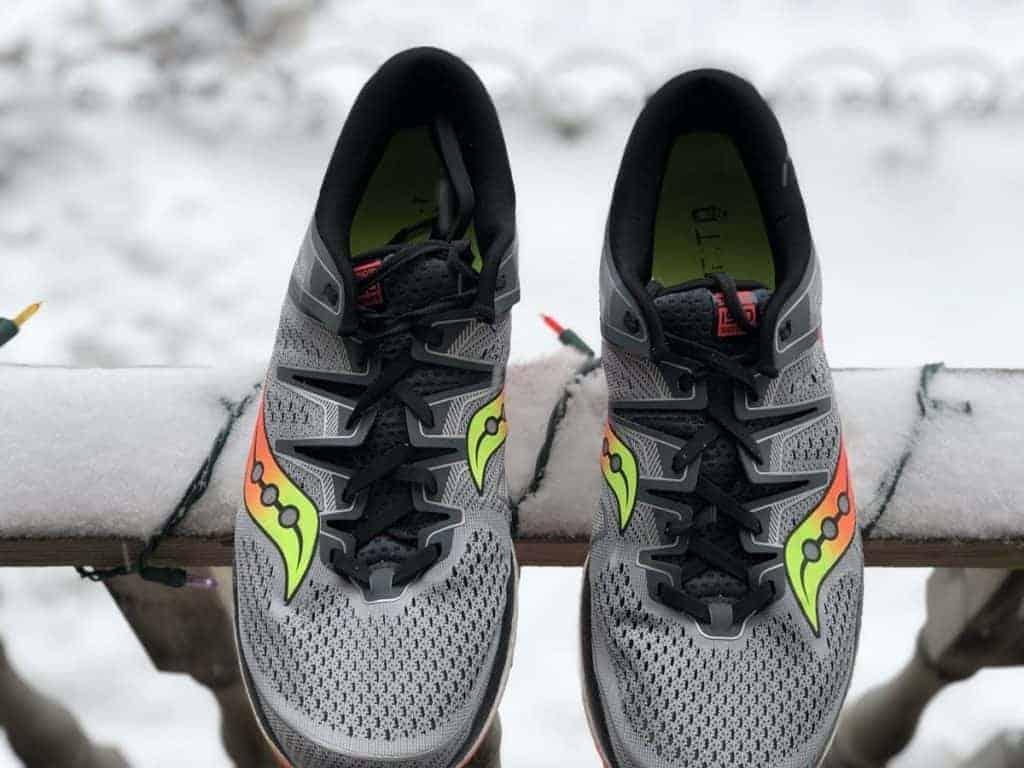 Saucony Triumph ISO 5 - верх обуви