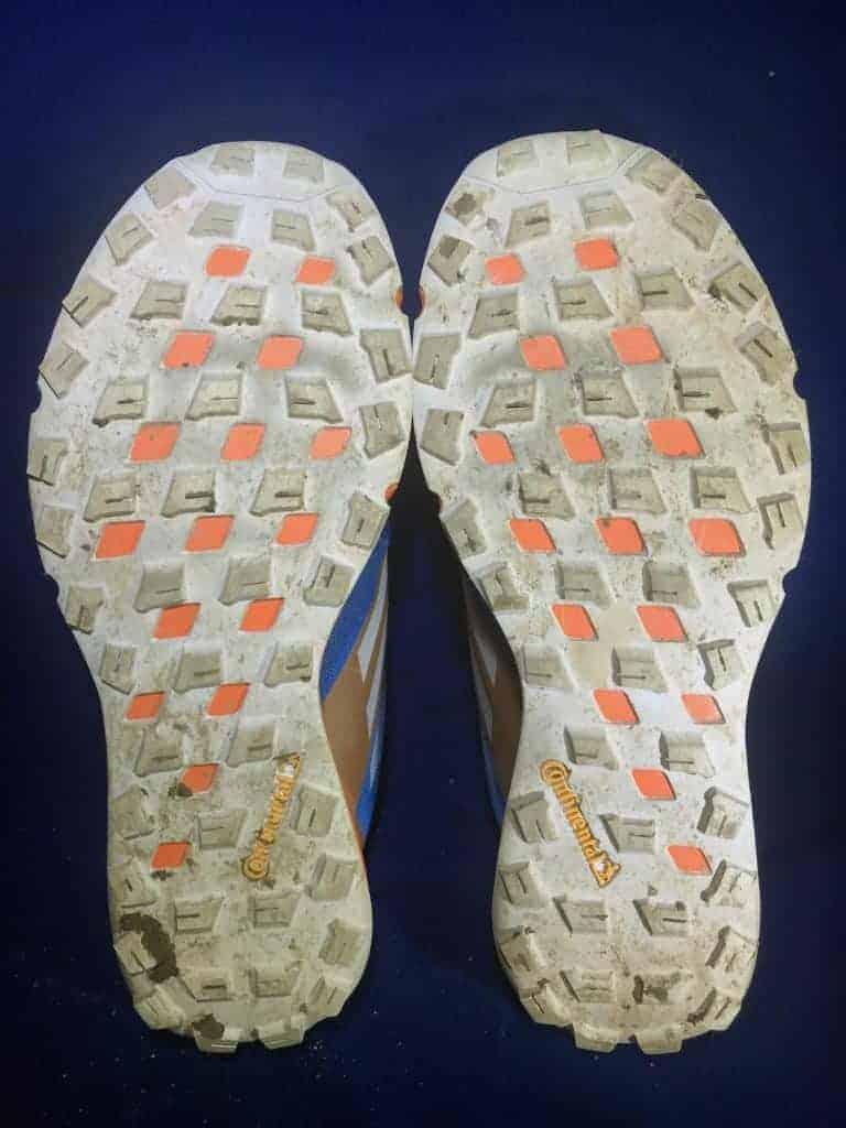 Adidas Terrex Two Boa - Подошва кроссовок