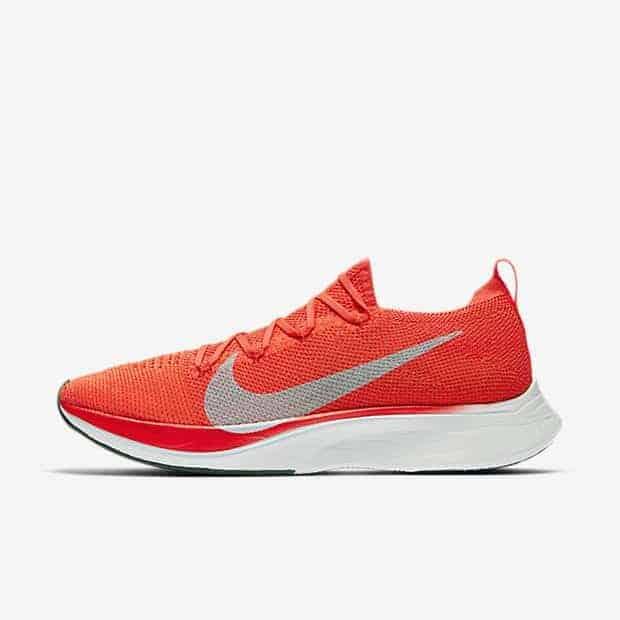 Кроссовки для бега Nike VaporFly 4% Flyknit унисекс Красный цвет