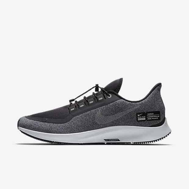 Кроссовки для бега Nike Air Zoom Pegasus 35 Shield Water-Repellent мужские Черный цвет