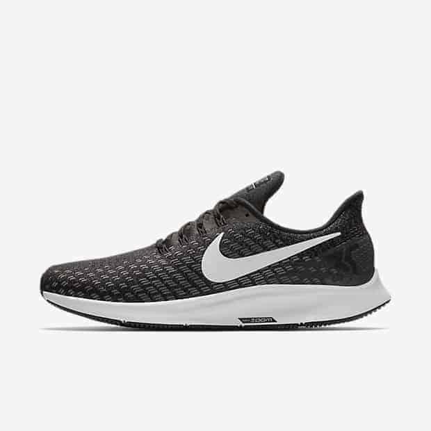 Кроссовки для бега Nike Air Zoom Pegasus 35 (на широкую ногу) мужские Черный цвет