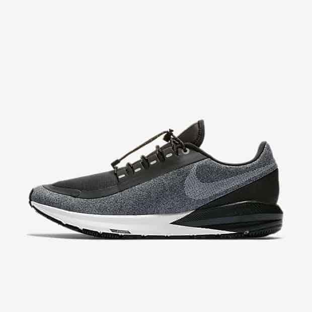 Кроссовки для бега Nike Air Zoom Structure 22 Shield Water-Repellent мужские Черный цвет