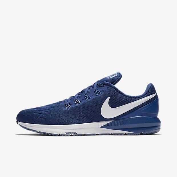 Кроссовки для бега Nike Air Zoom Structure 22 (на широкую ногу) мужские Синий цвет