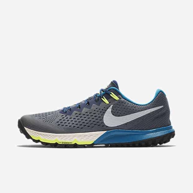 Кроссовки для бега Nike Air Zoom Terra Kiger 4 мужские Серый цвет