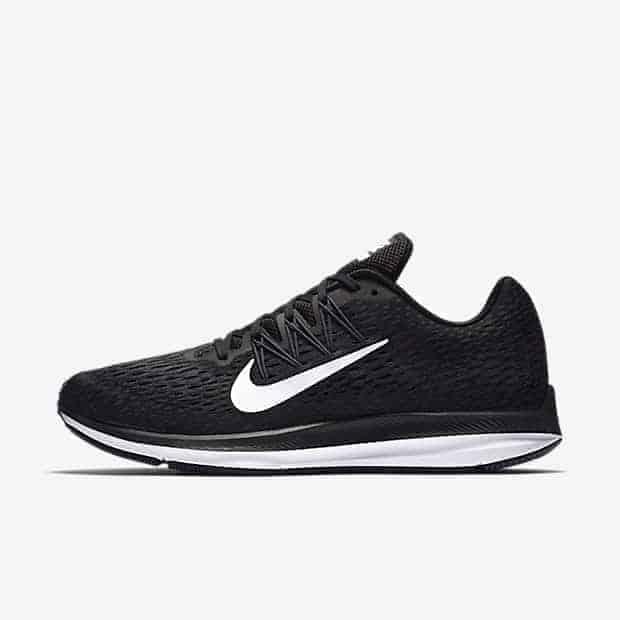 Кроссовки для бега Nike Air Zoom Winflo 5 мужские Черный цвет