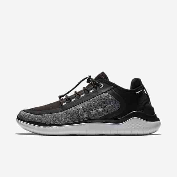 Кроссовки для бега Nike Free RN 2018 Shield Water-Repellent мужские Черный цвет
