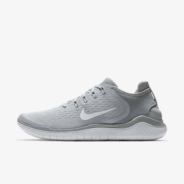 Кроссовки для бега Nike Free RN 2018 мужские Серый цвет