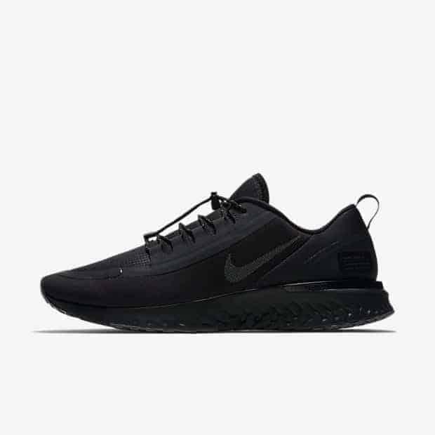 Кроссовки для бега Nike Odyssey React Shield Water-Repellent мужские Черный цвет
