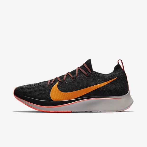 Кроссовки для бега Nike Zoom Fly Flyknit мужские Черный цвет