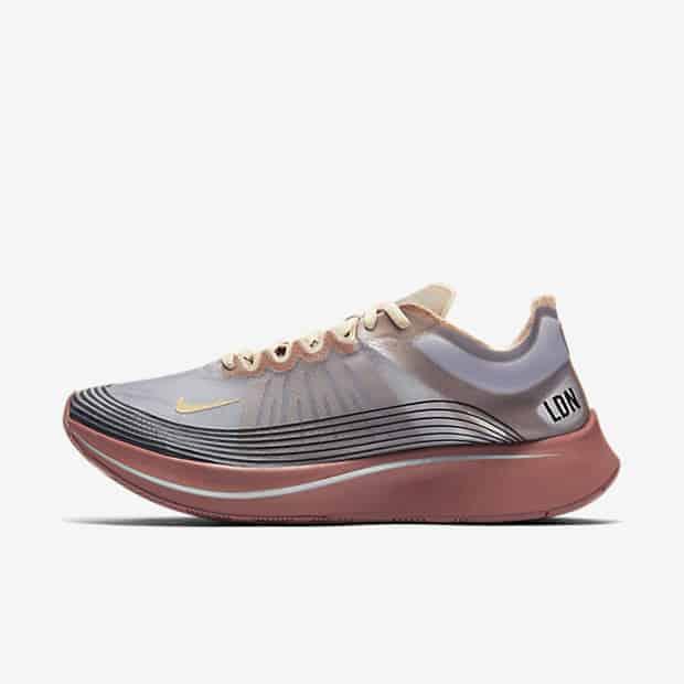 Кроссовки для бега Nike Zoom Fly SP унисекс Серый цвет