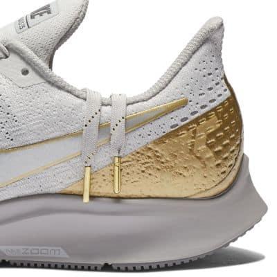 Кроссовки для бега Nike Air Zoom Pegasus 35 Metallic женские Серый цвет