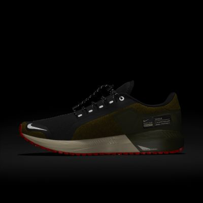 Кроссовки для бега Nike Air Zoom Structure 22 Shield Water-Repellent мужские Оливковый цвет