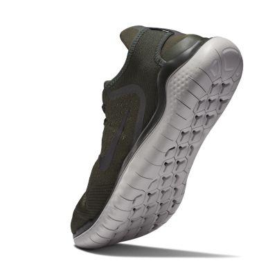 Кроссовки для бега Nike Free RN 2018 мужские Хаки цвет