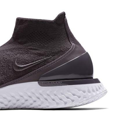 Кроссовки для бега Nike Rise React Flyknit мужские Серый цвет
