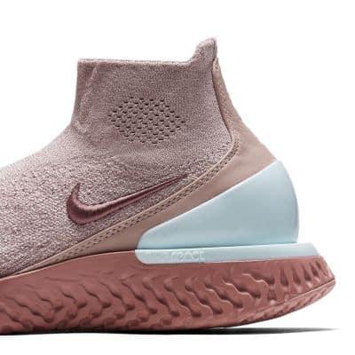 Кроссовки для бега Nike Rise React Flyknit женские Коричневый цвет