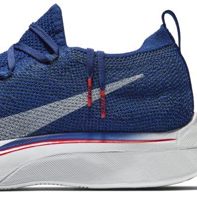 Кроссовки для бега Nike VaporFly 4% Flyknit унисекс Синий цвет