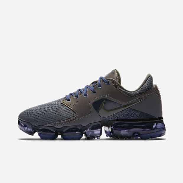 Кроссовки для бега Nike Air VaporMax R женские Серый цвет