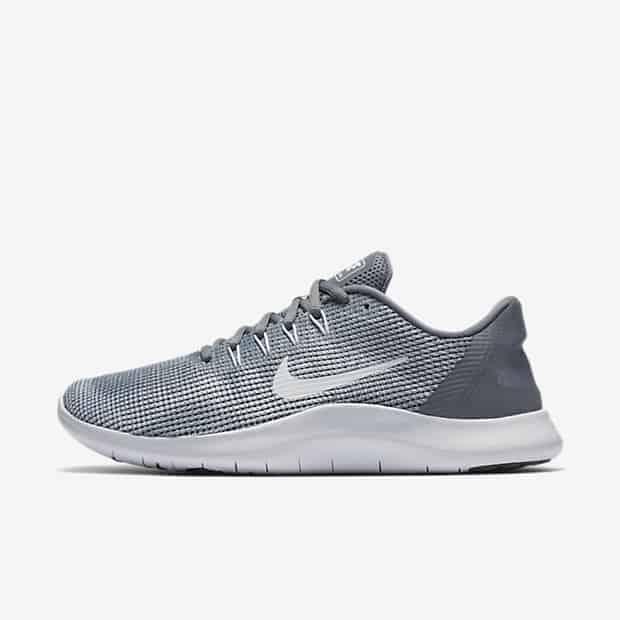 Кроссовки для бега Nike Flex RN 2018 женские Серый цвет