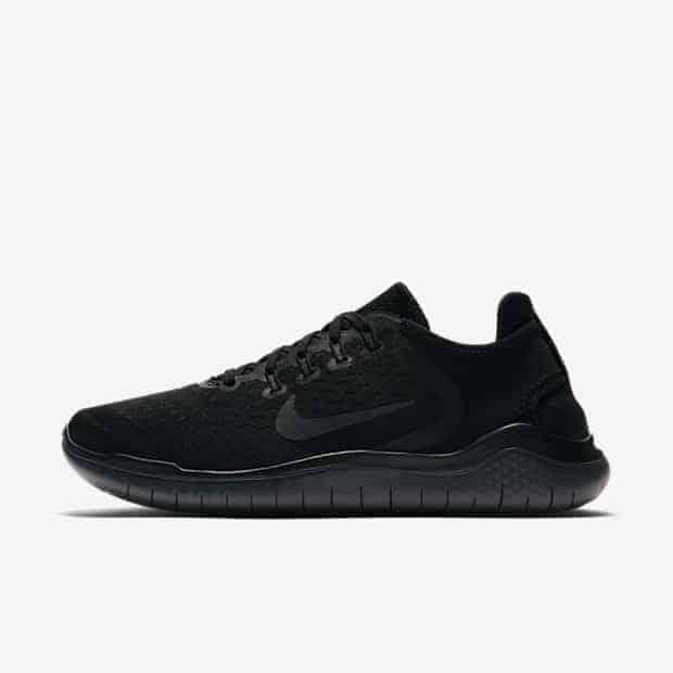 Кроссовки для бега Nike Free RN 2018 женские Черный цвет