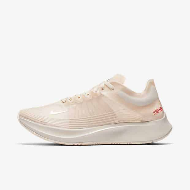 Кроссовки для бега Nike Zoom Fly SP женские Кремовый цвет