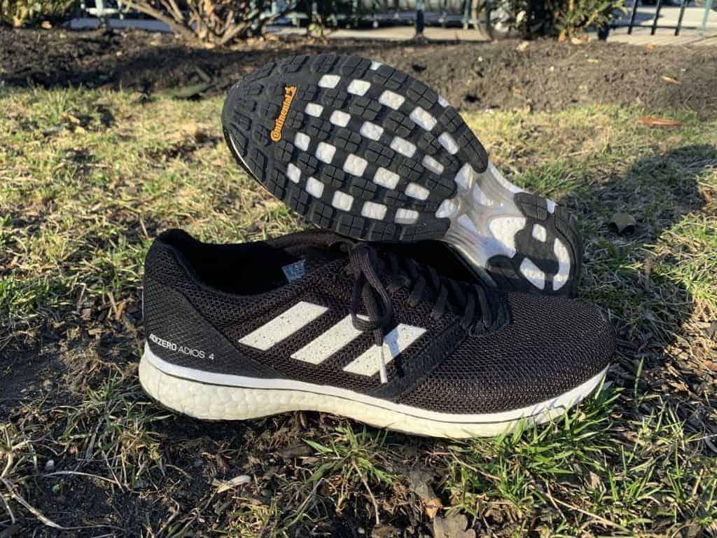 Adidas Adizero Adios 4 - пара кроссовок