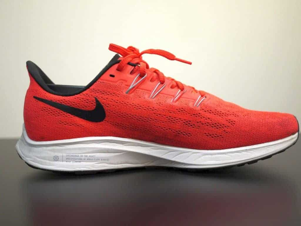 Nike Zoom Pegasus 36 - вид сбоку