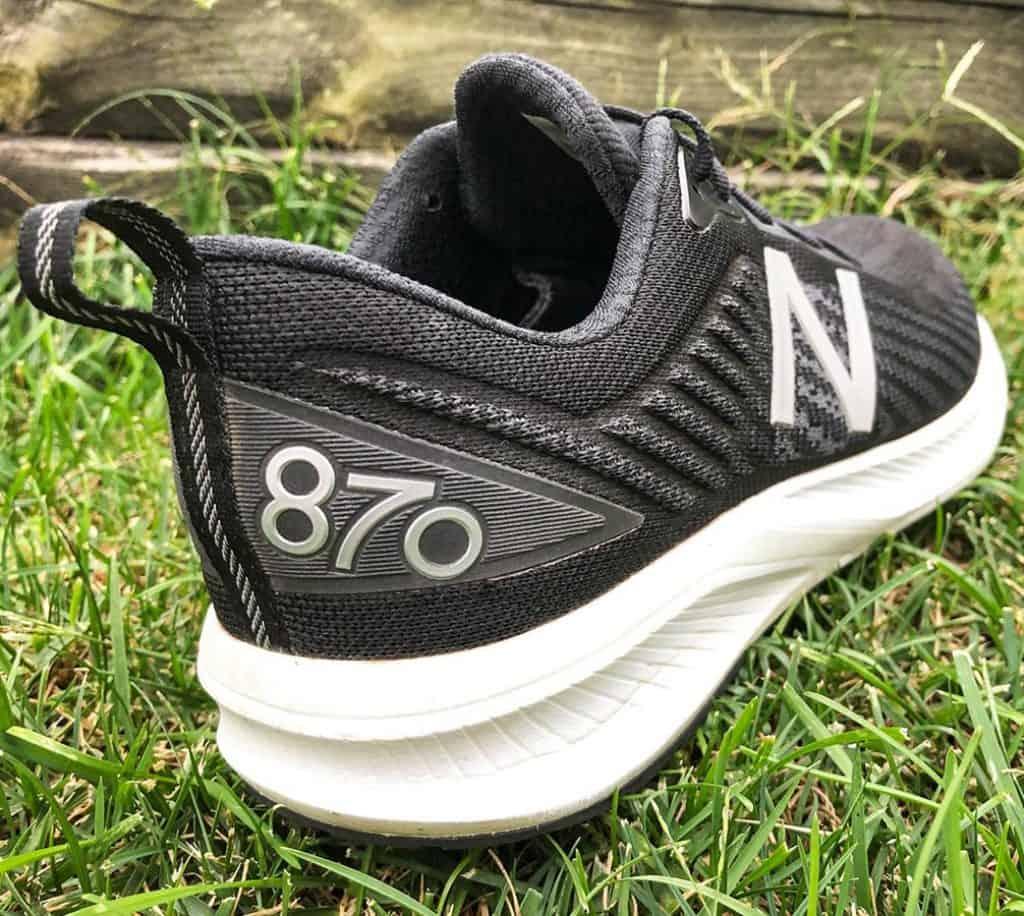 New Balance 870v5 - Пятка