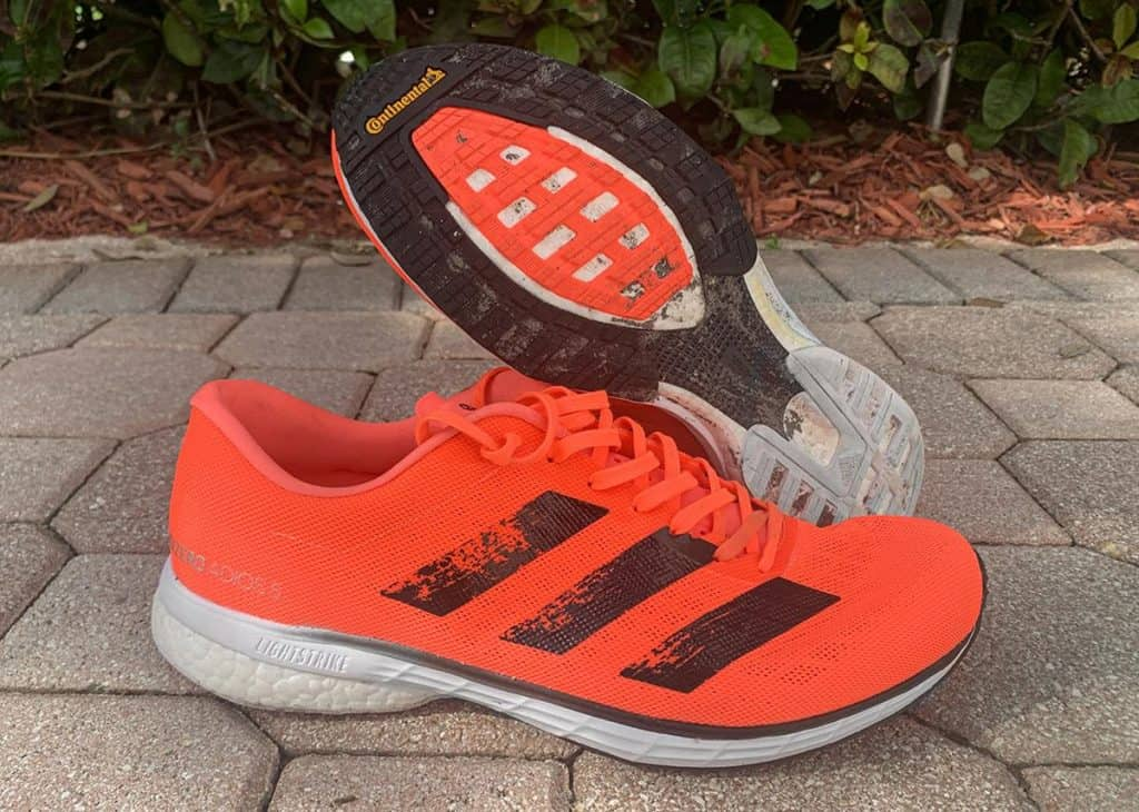 Adidas Adizero Adios 5 - пара кроссовок