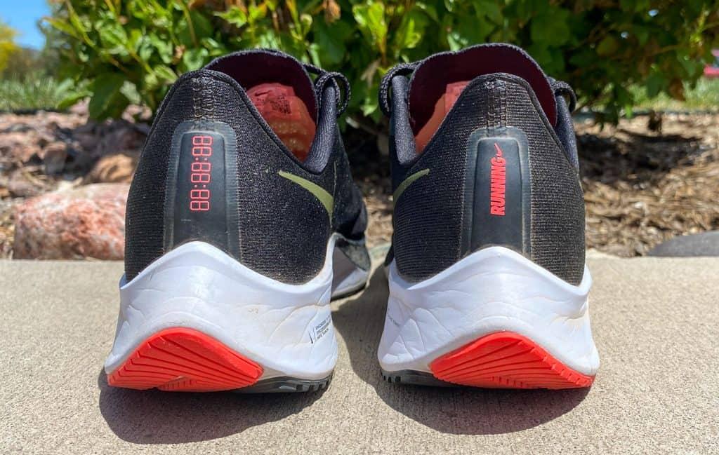 Nike Zoom Pegasus 37 - пятка