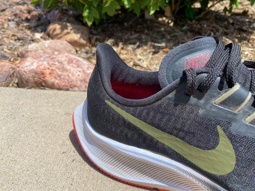 Nike Zoom Pegasus 37 - система шнуровки