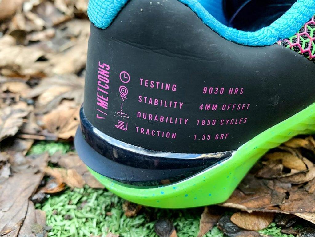 Nike Metcon 5 - Вид вблизи