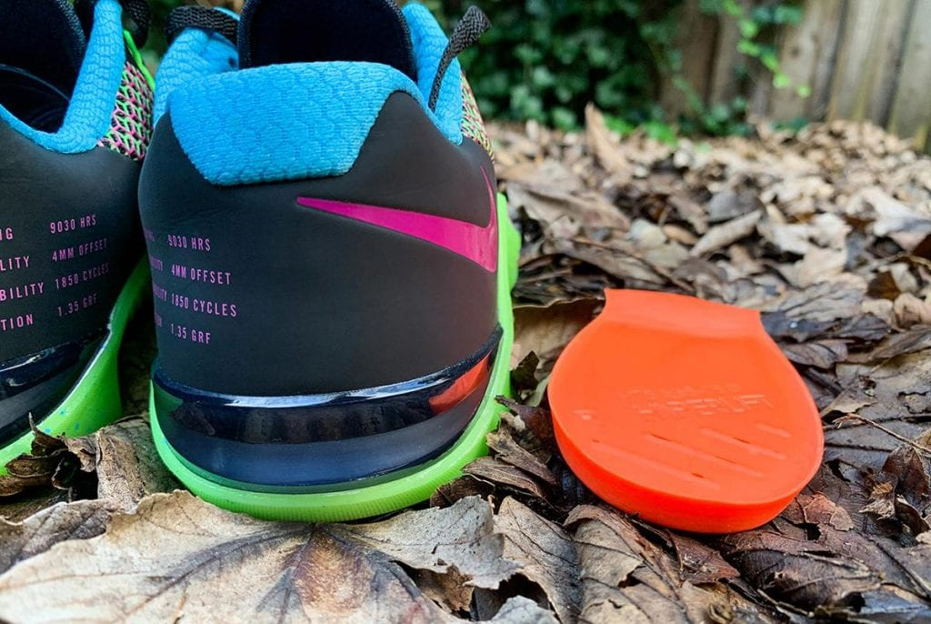 Nike Metcon 5 - Пятка