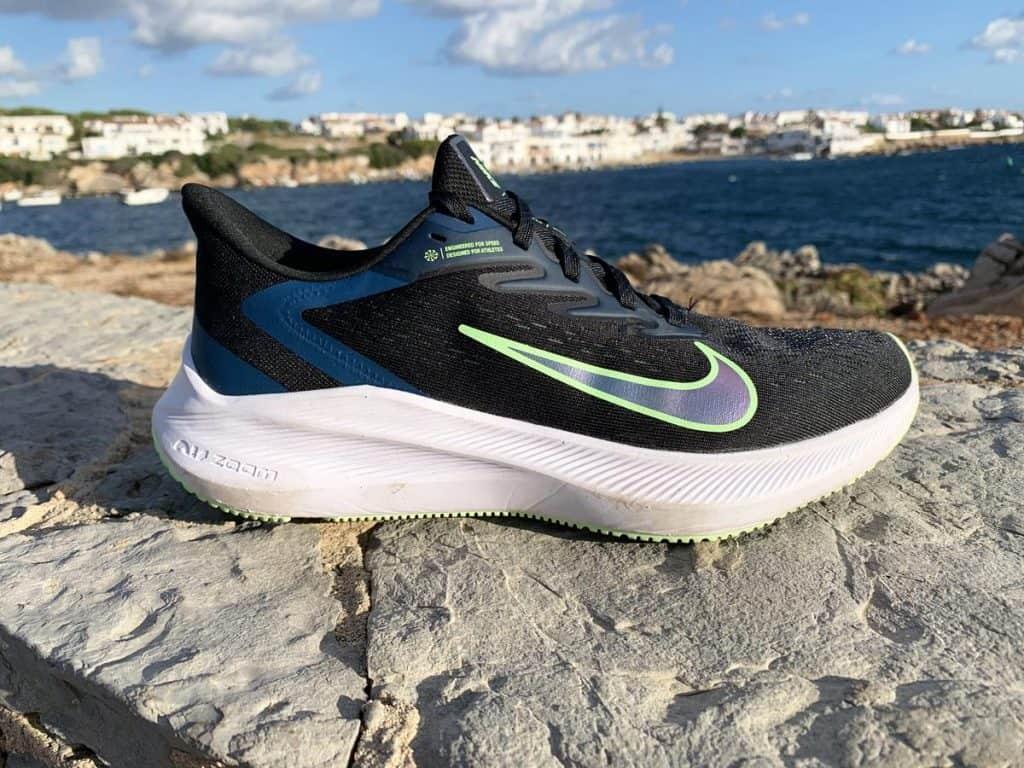 Nike Air Zoom Winflo 7 - Вид сбоку