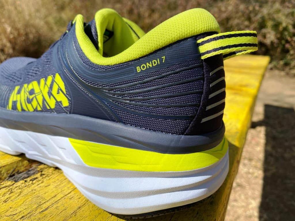 Hoka One One Bondi 7 - Вид пятки вблизи