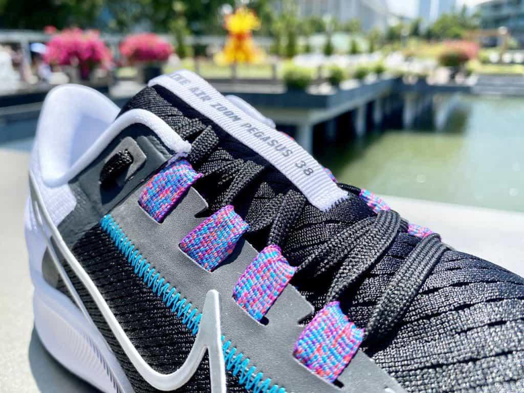 Nike Zoom Pegasus 38 - Шнуровка