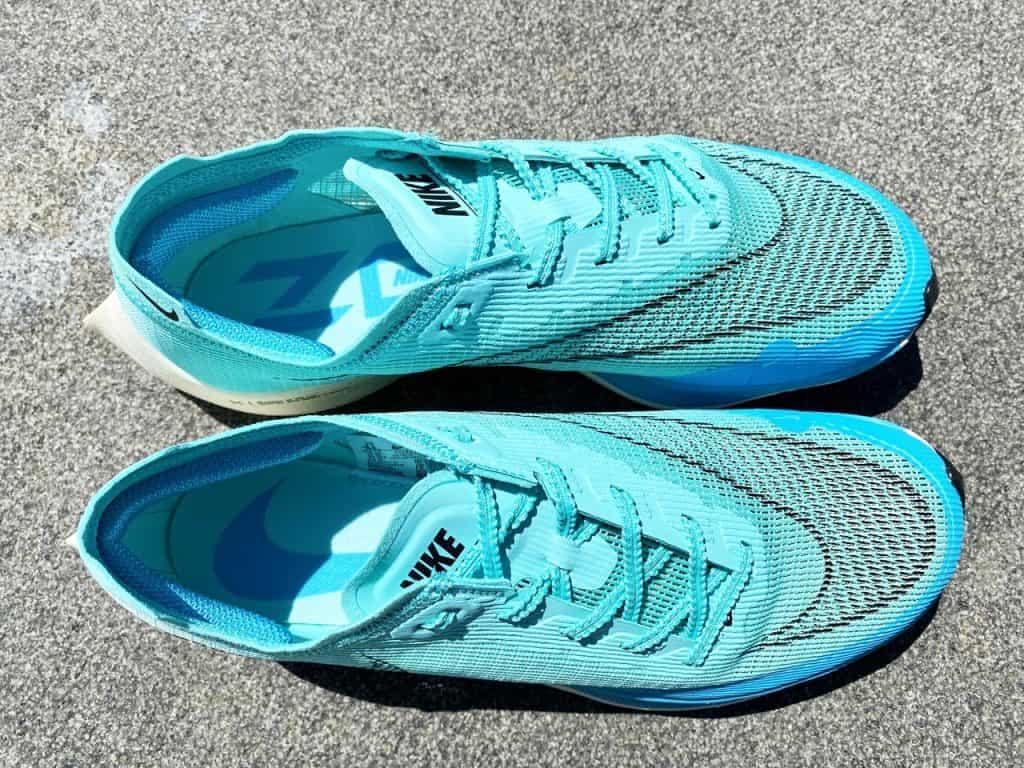 Nike ZoomX Vaporfly Next% 2 - Вид сверху