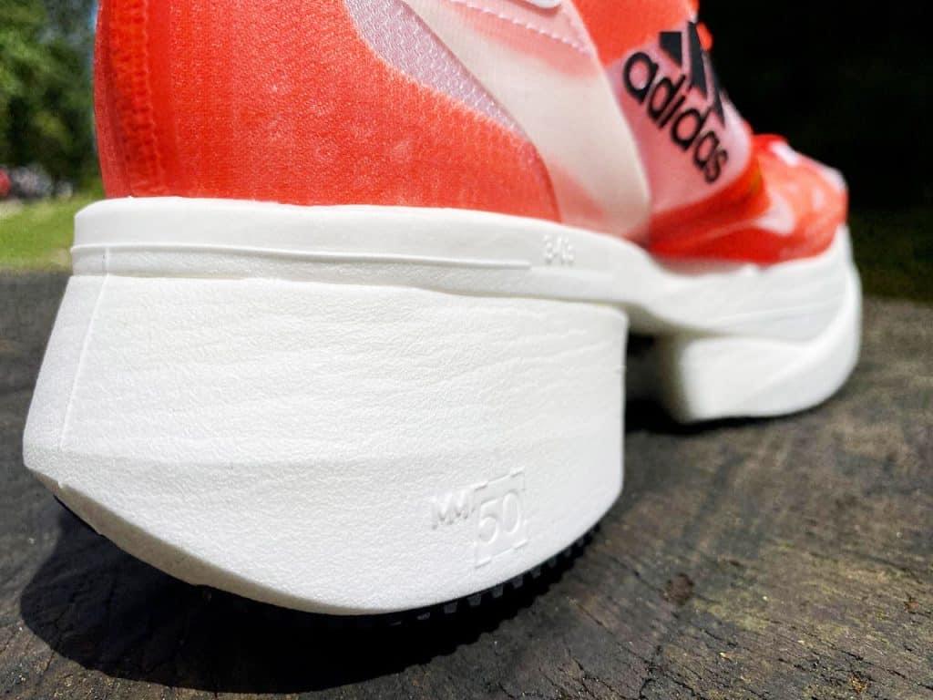 Adidas Prime X - Вид пятки вблизи