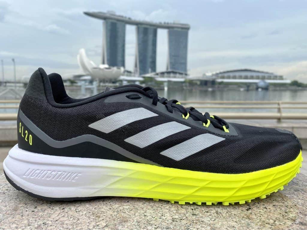 Adidas SL20.2 – Вид с внешней стороны
