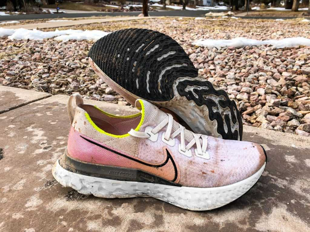 Nike React Infinity Run Flyknit - Пара кроссовок