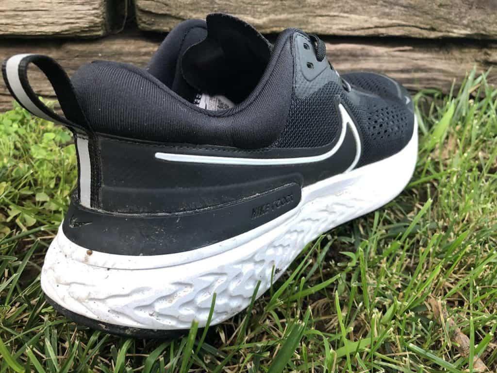 Nike React Miler 2 – Пятка вблизи