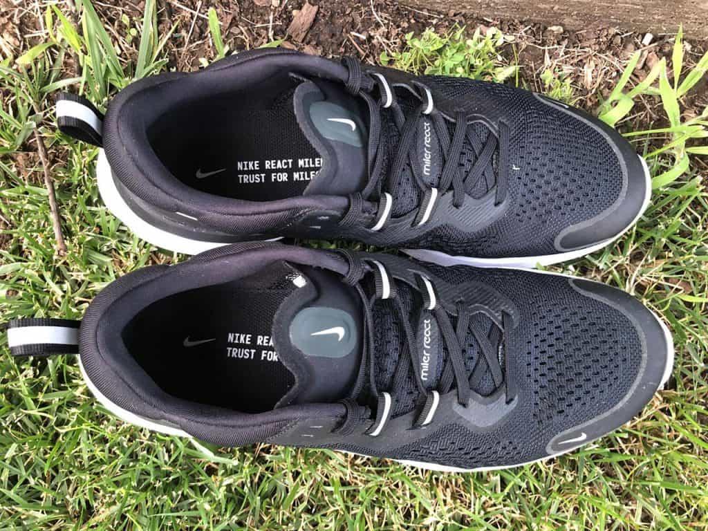 Nike React Miler 2 – Вид сверху